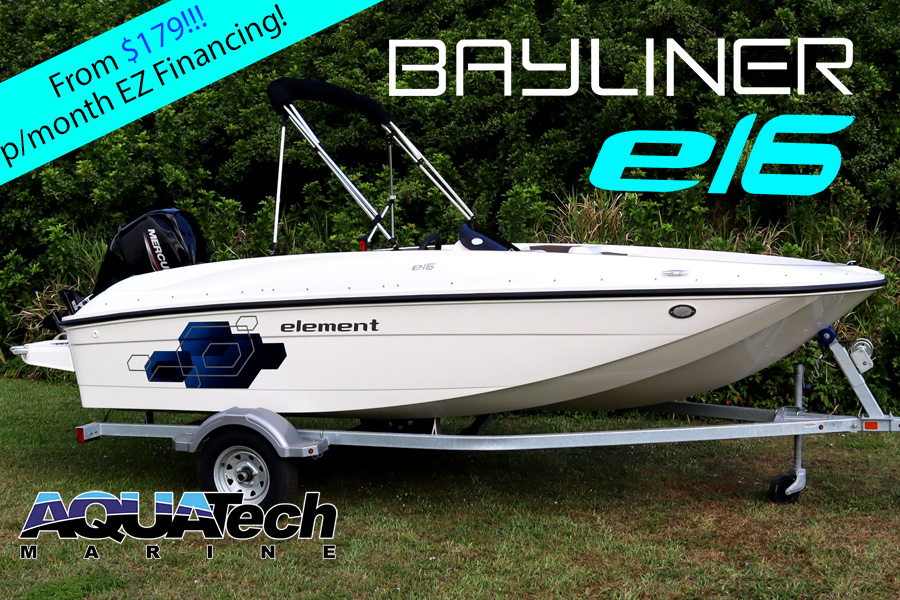 2020 Bayliner E16 with 75HP For Sale