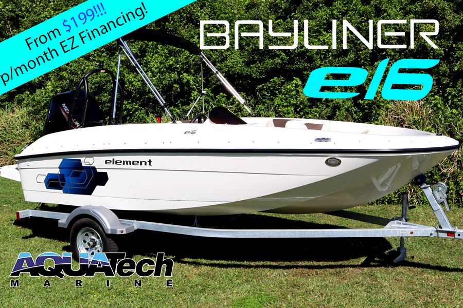 2020 Bayliner E16 with Tow Bar For Sale