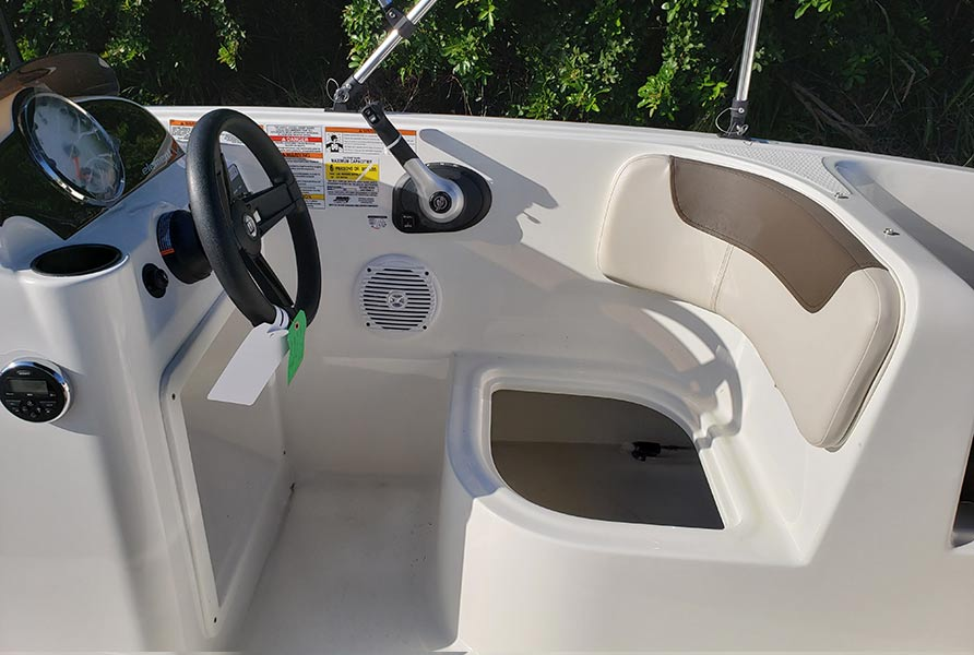 2018 Bayliner Element E16 White