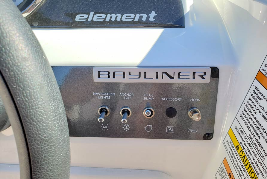 2019 Bayliner Element E16 Orange