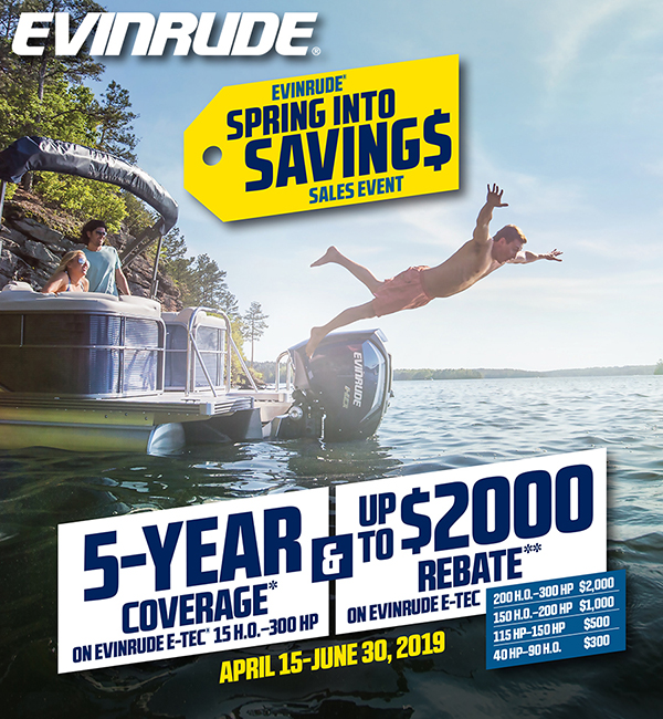 Evinrude Sping Into Savings Event