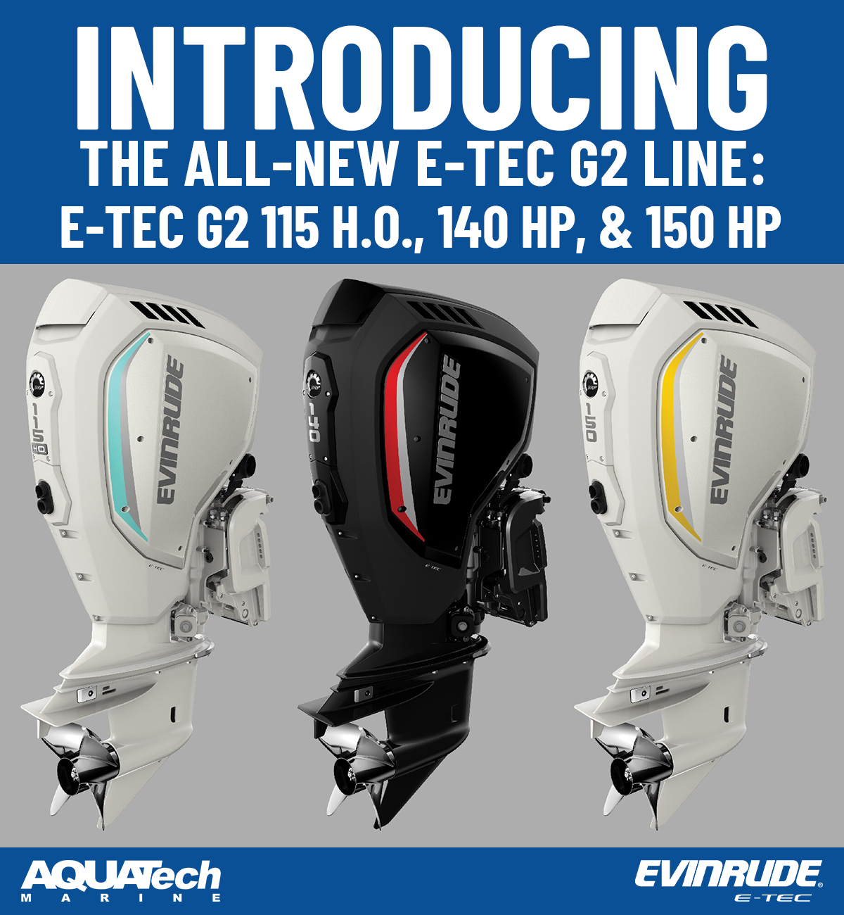 Evinrude New 2020 E-Tec Line-up