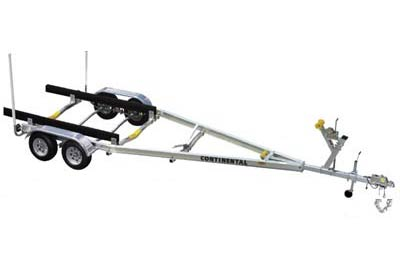 A Model Aluminum Continental Boat Trailer