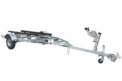 Tilt Galvanized Continental Boat Trailer