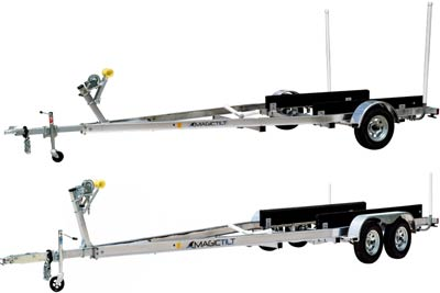 ALS Series Aluminum Magic Tilt Boat Trailer
