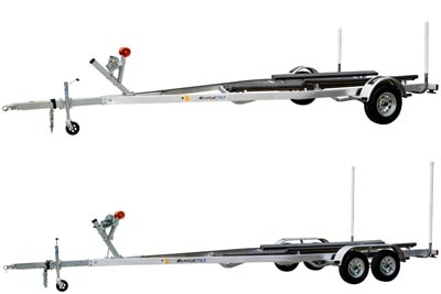 CA Series Aluminum Magic Tilt Boat Trailer