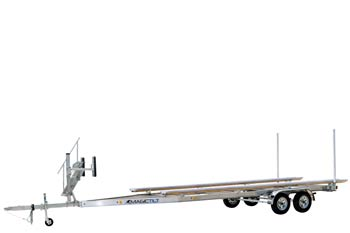 Pontoon Aluminum Magic Tilt Boat Trailer