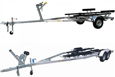 Skiff Aluminum Magic Tilt Boat Trailer