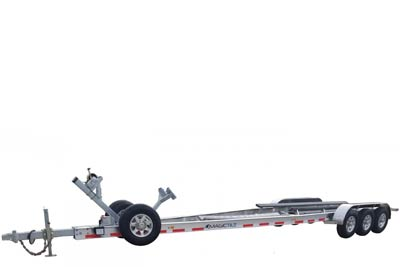 Welded CA Series Aluminum Magic Tilt Boat Trailer