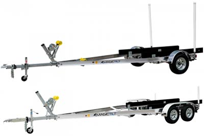 XPress Series Aluminum Magic Tilt Boat Trailer