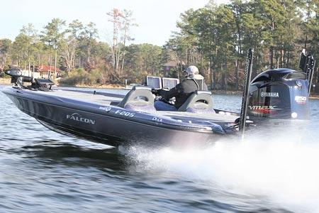 Falcon F205 Bass Boat