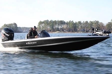 Falcon 215 Bass Boat